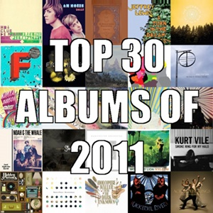 Top 30 Albums of 2011