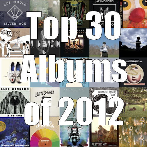 Top 30 albums of 2012